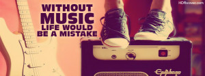 Music quotes facebook cover photo