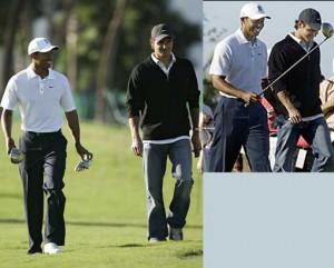 Tiger Woods and Roger Federer. Federer has pledged unflinching support ...