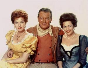 Quick Pix: John Wayne, Maureen O'Hara and Yvonne De Carlo w/Video