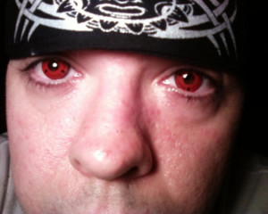 Awesome Red Contact Lenses