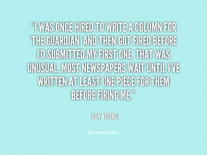 quote Toby Young i was once hired to write a 37242 png