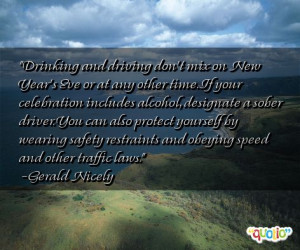 Famous Quotes Drunk Driving