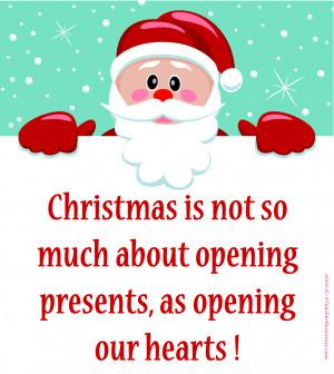 Quotes} Santa Christmas Quote