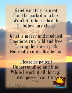 Grief Is Messy More