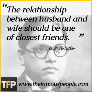 relationship between husband and wife should be one of closest friends