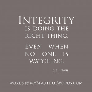 Quotes About Integrity And Ethics