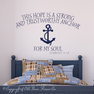 ... anchor for my soul.
