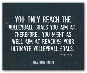Volleyball Quote #014