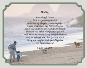 Father's Day Poems From Daughter