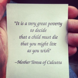 Mother teresa, quotes, sayings, great poverty