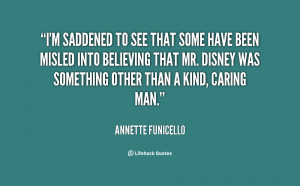 ... found Mr. Disney to be somewhat of a shy person, a kid at heart