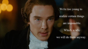 William Pitt challenging William Wilberforce to look beyond the ...