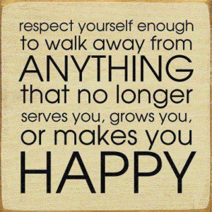 deserve, happy, quotes, respect, text, you, yourself