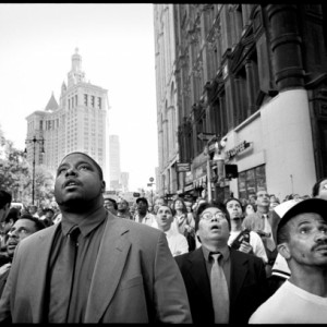 People's Reactions To The Nine Eleven Twin Towers Attack In New York