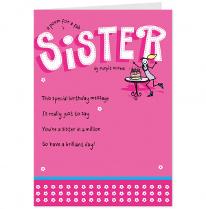 Funny Sister Quotes And Poems Quotesgram