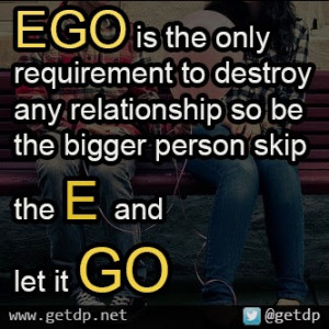 Popular on ego quotes in relationship - Russia