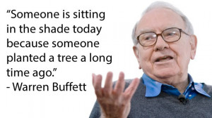 The following are some inspirational quotes by Warren Buffett, which ...