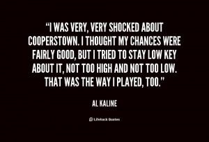 Al Kaline Quotes