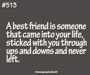 best friend is someone