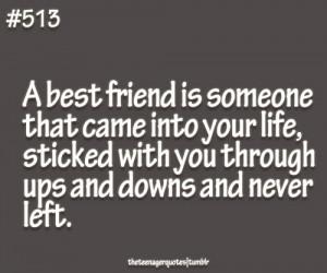 best friend is someone