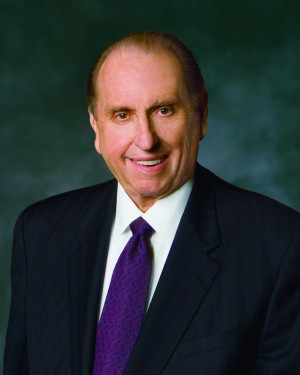 President Thomas S. Monson. Intellectual Reserve, Inc. All rights ...
