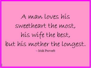 Irish Sayings About Family Irish proverb best