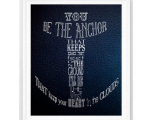 Nautical Print Nautical Quote Ocean Nursery Decor Nautical Navy ...