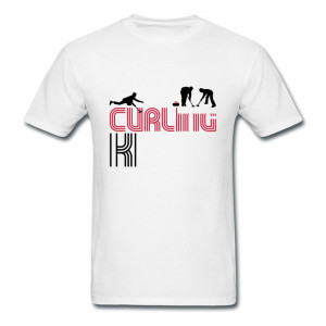 Brand New Gildan Mans T curling kings Personalize Funny Quotes Tee ...