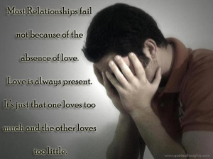 Relationship Quotes-Thoughts-Love is always present