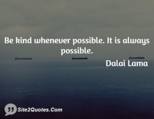 Inspirational Quotes - Dalai Lama