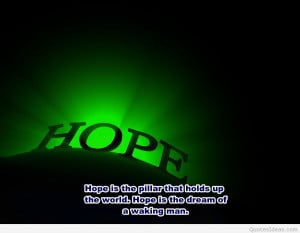 Best hope quotes in the world!
