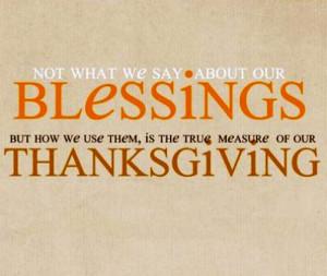 Thanksgiving quotations