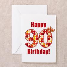 90th Birthday Gag Gifts Greeting Cards (Pk of 20)