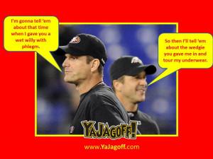 Harbaugh vs. Harbaugh – From A Sore-Loser Pittsburgh Fan