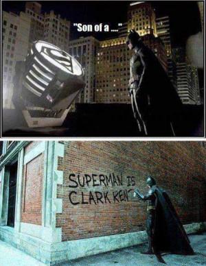 ... funny pictures humor lol revenge superheroes superman no superman