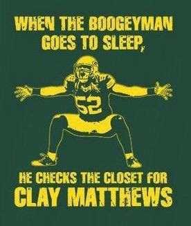 He checks the closet for Clay Matthews