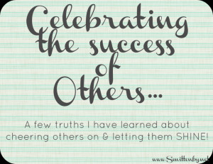 How do you celebrate the Success of Others, when all you feel is anger ...