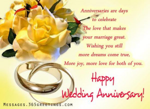 Greetings Quotes for Couple | Marriage anniversary wishes, marriage ...