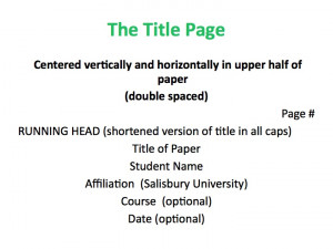 How to write a thesis statement for a research paper in apa format