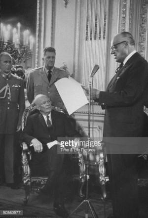 Jorge Alessandri Dwight D Eisenhower Vernon A Walters