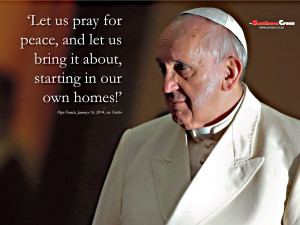 Pope Francis Quote Wallpaper