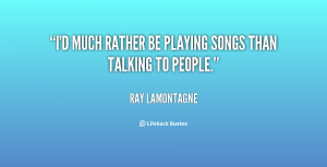 Id Rather Be Quotes