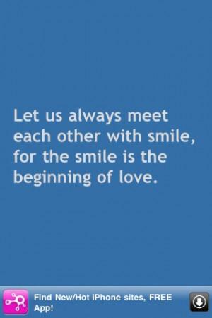Best Mother Teresa Quotes screenshot