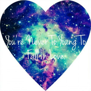 heart #galaxy #love #young #hipster #colorful