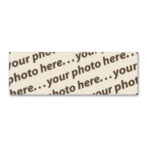 Custom Double Photo Bookmark w/Thoreau Quote Business Card Template ...