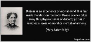 More Mary Baker Eddy Quotes