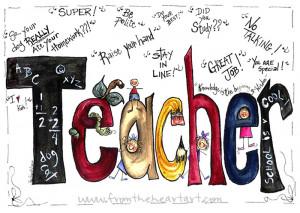teacher quotes print the teacher quotes print is an original design ...