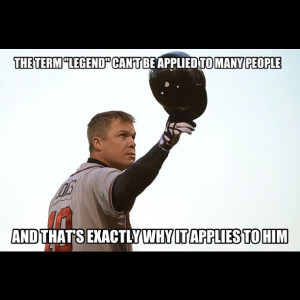 chipper jones baseball legends