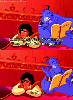 Genie From Aladdin Quotes