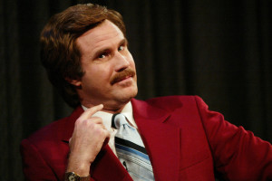 """New Music: Ron Burgundy and Robin Thicke Hit the Studio for """"Ride ..."""
